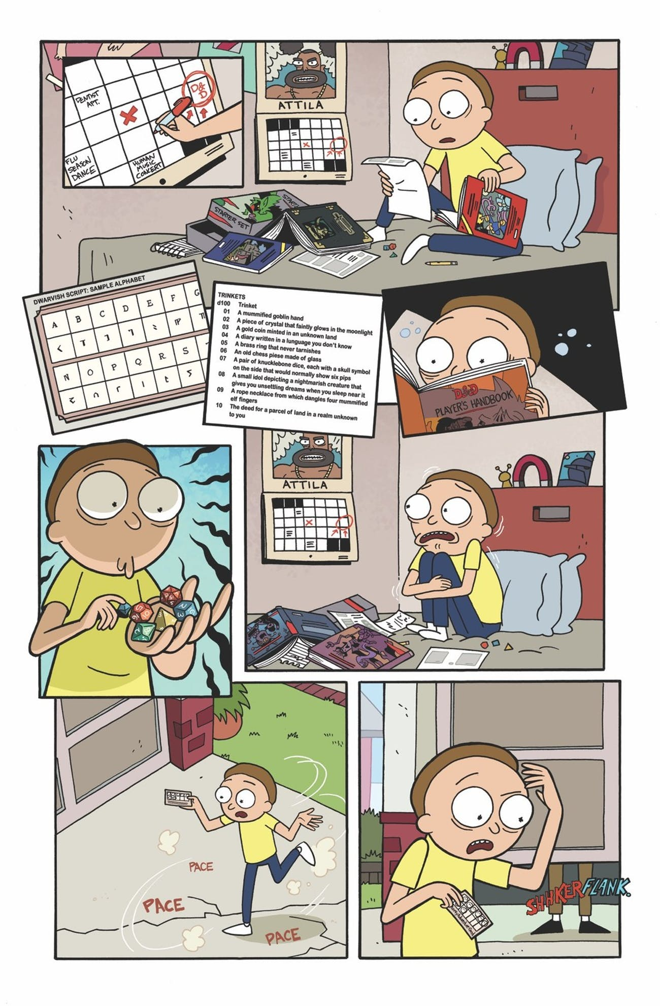 Rick and Morty' Easter Egg Confirms When the 'D&D' Comic