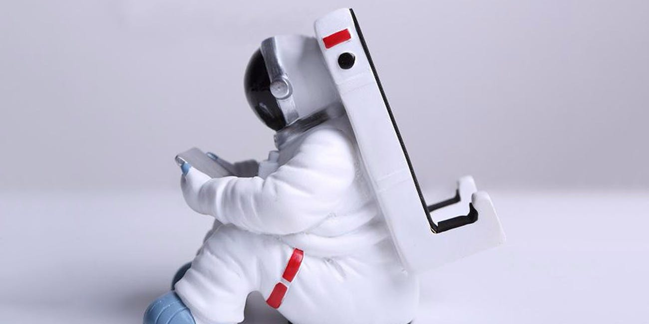 Keepwood KW-0140 Astronaut Cell Phone/Tablet PC Holder Stand