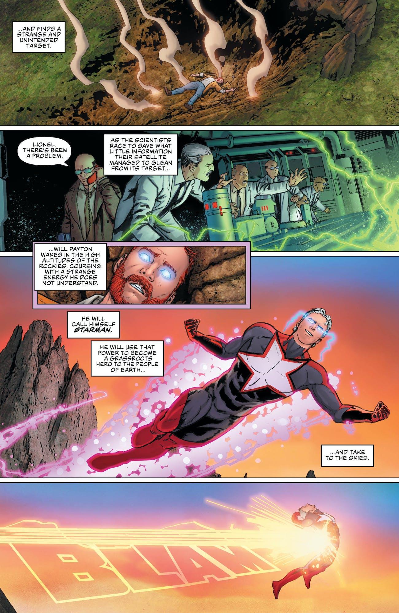 Lex Luthor Starman Justcie League