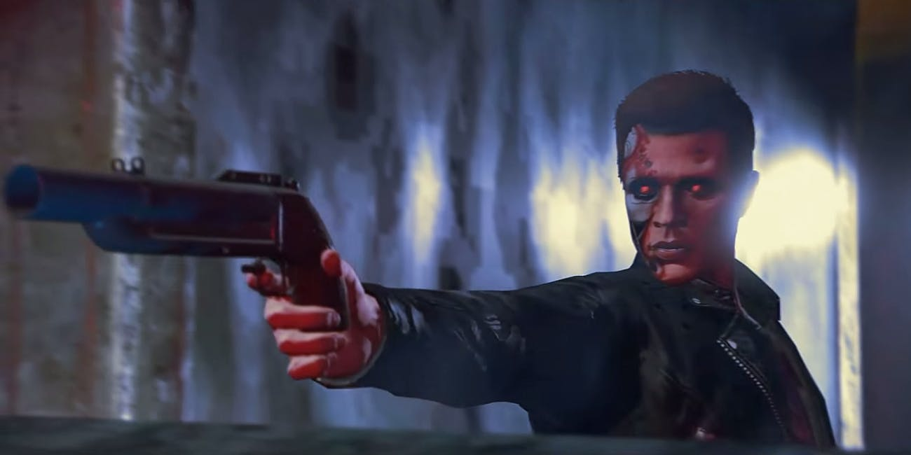 Terminator 2 Grand Theft Auto V Judgement Day T-1000 T-800