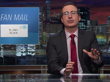 John Oliver Ventures Into YouTube's Comment Section