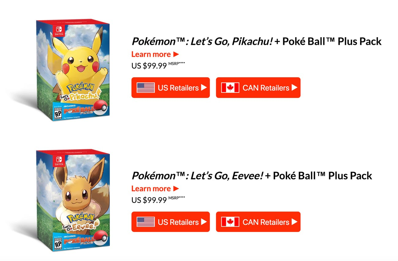 pokemon let's go bundles