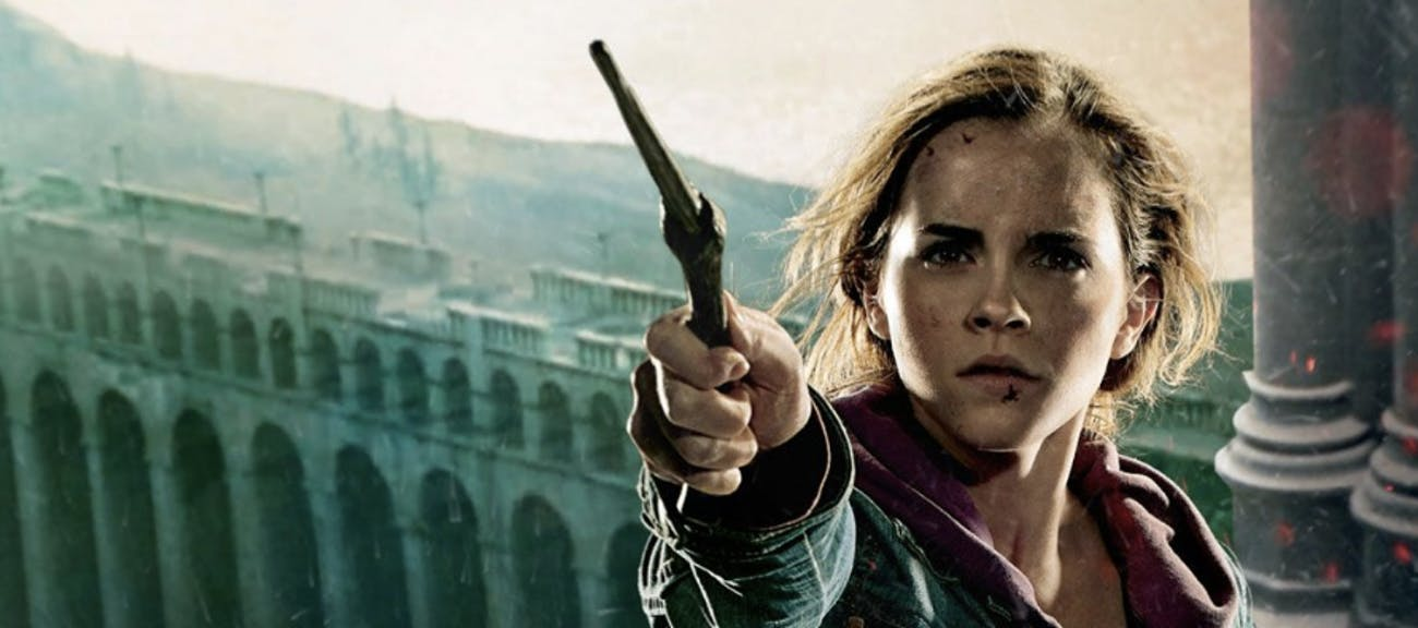 Hermione in action