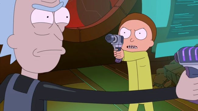 It gets pretty dark when Morty's down to kill grandpa.