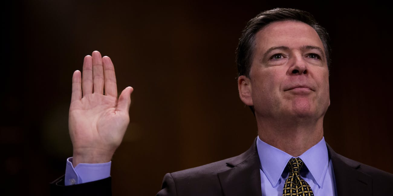 James Comey testify Senate Intelligence Russia investigation Trump