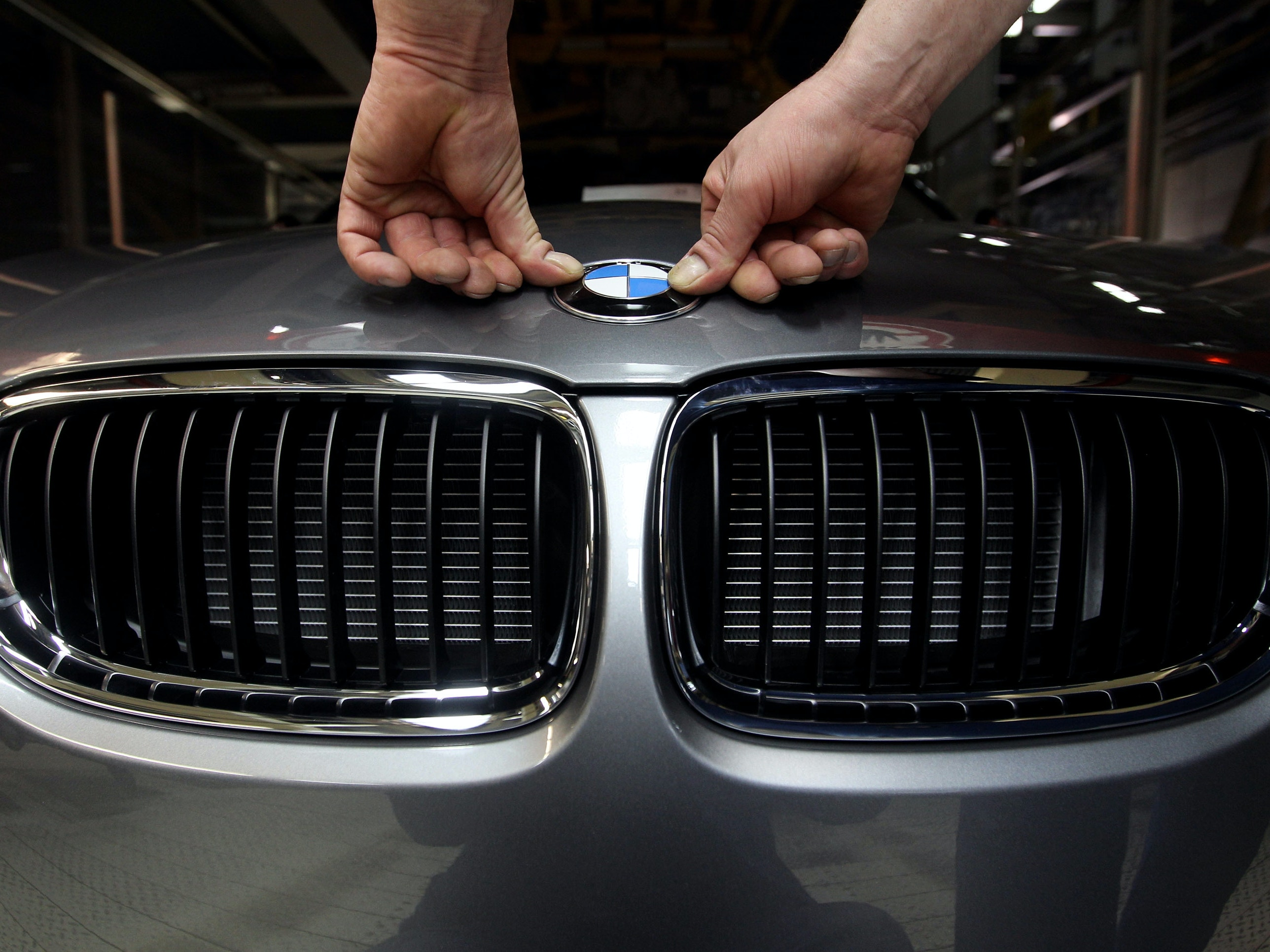 Self-Driving BMWs Have Hit the Crowded Streets of Beijing
