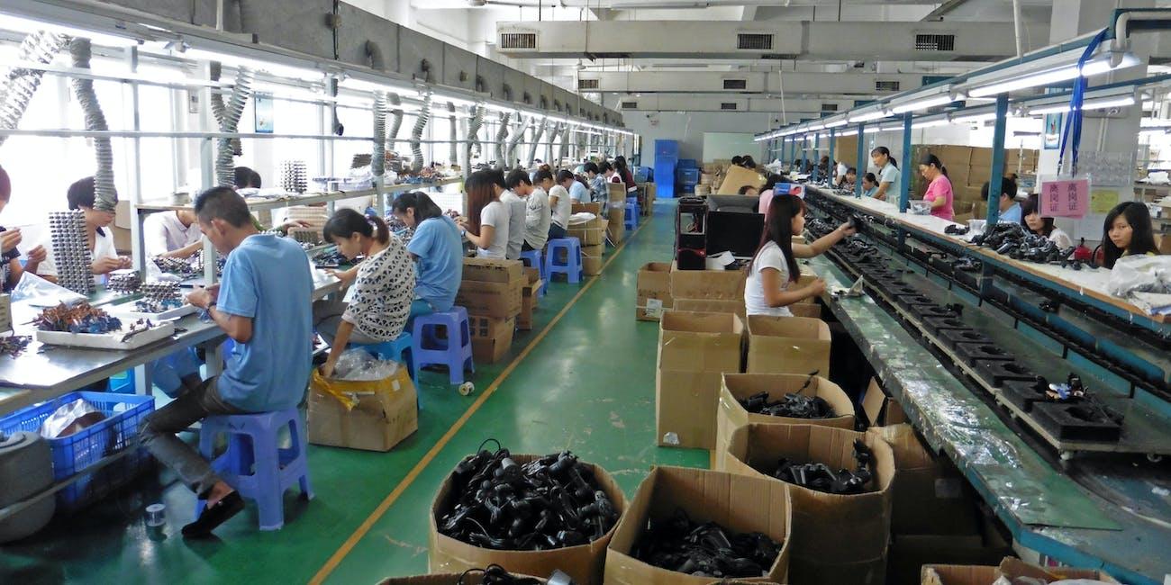 Videogame Controller factory Xixiang Shenzhen China