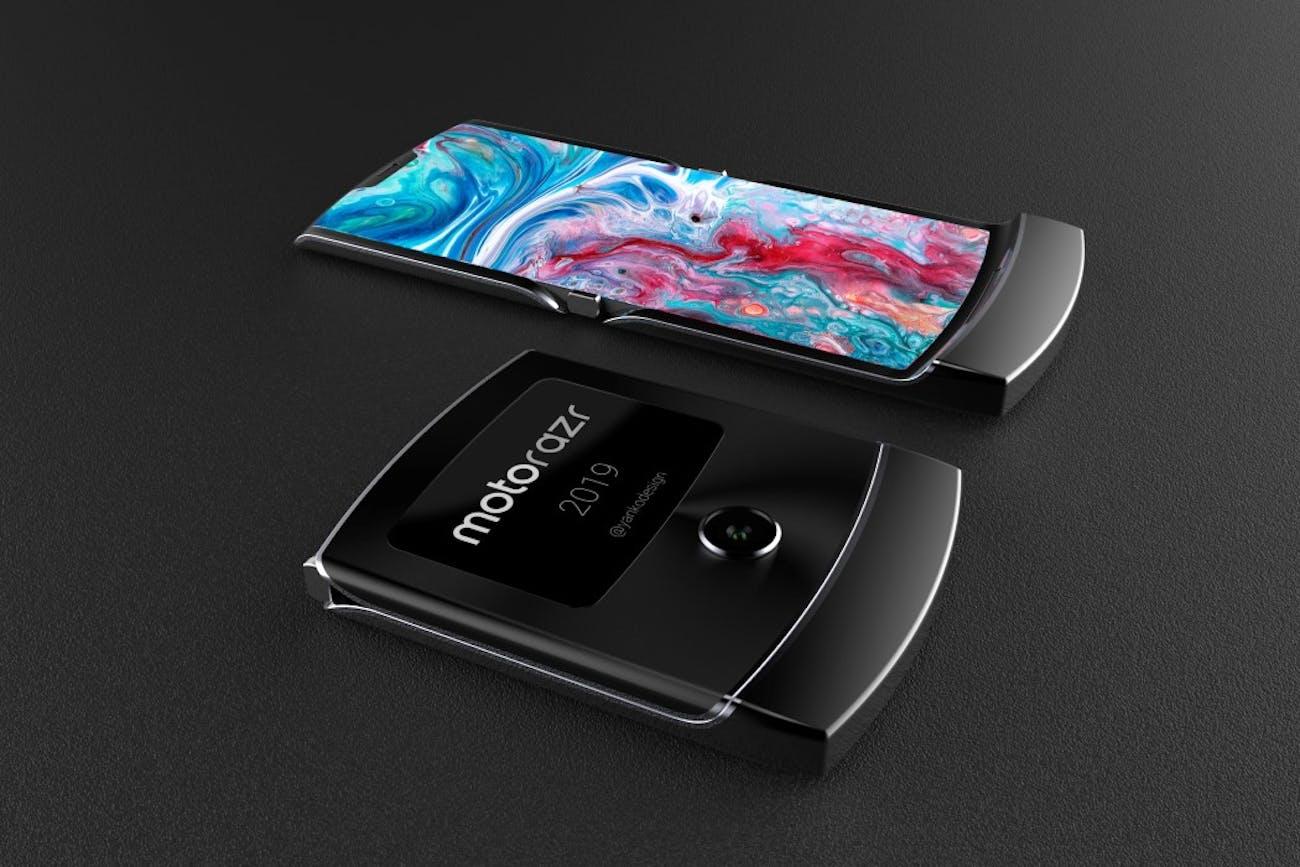 New Flip Phone 2019 Motorola Razr Renders Highlight the Rumored Foldable Phone's Pros