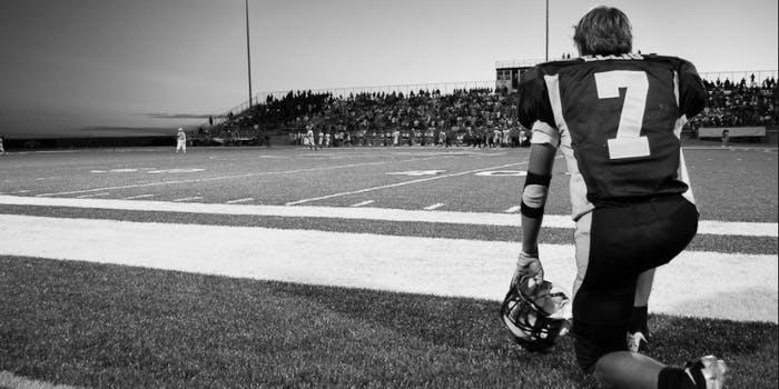 High schooler's brains were scanned and showed evidence of damage post-football playing.