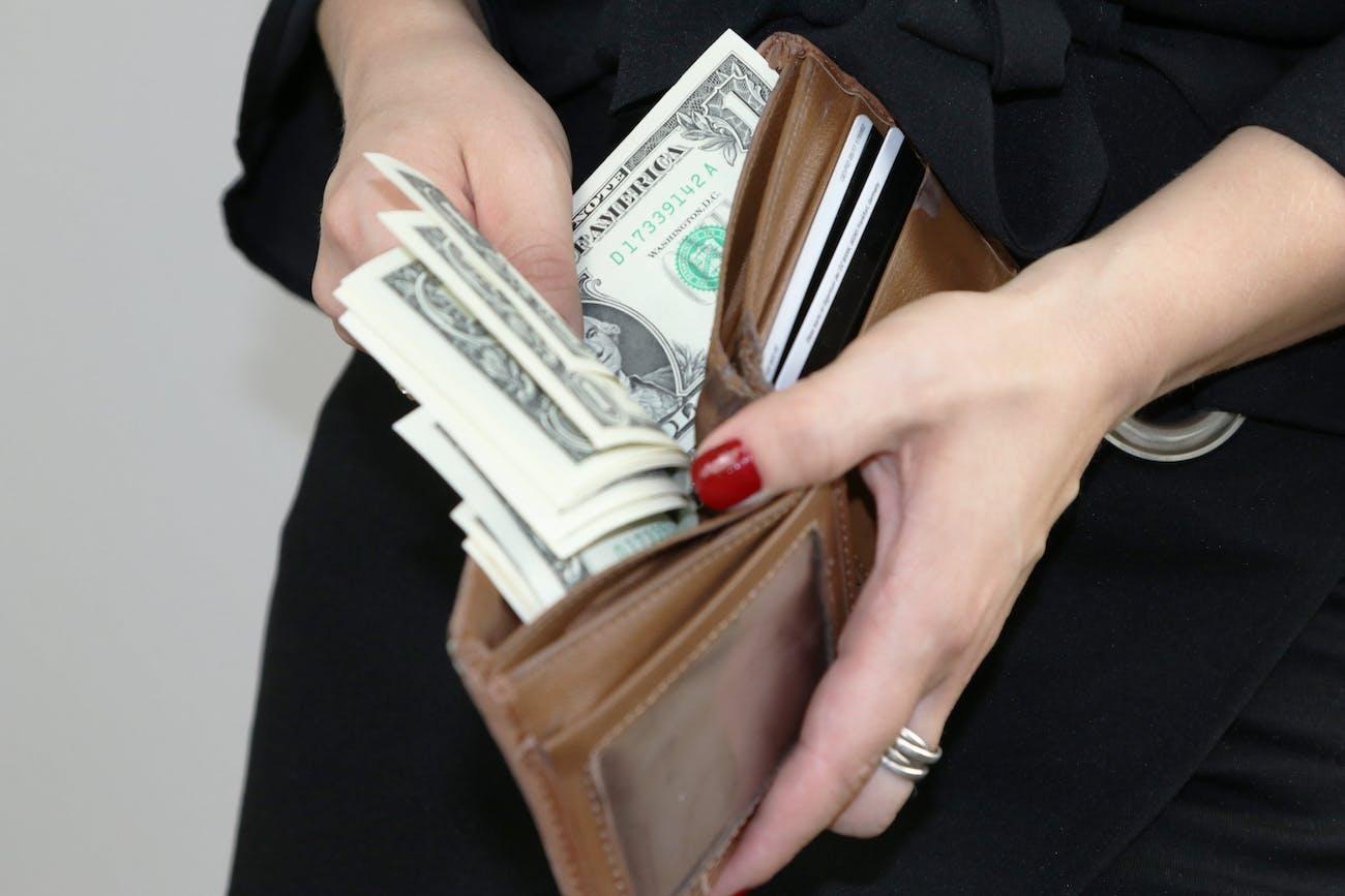 wallet money