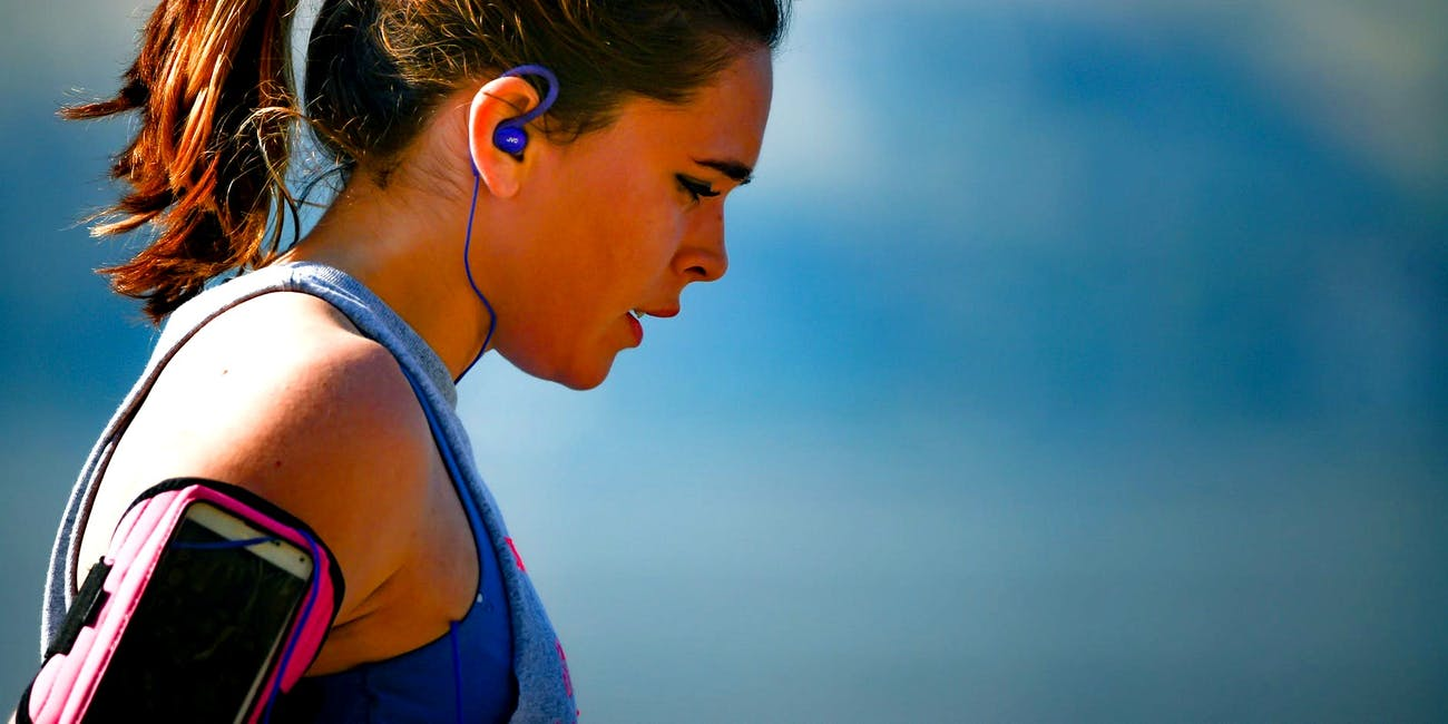 workout, exercise, music
