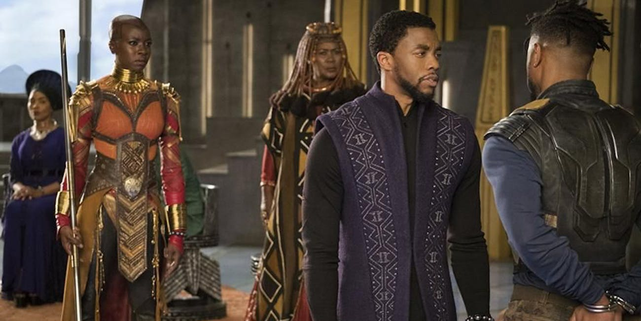 'Black Panther' continues to smash through records at the box office.