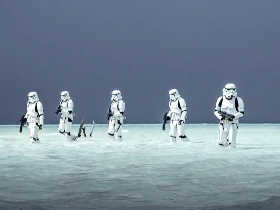 'Rogue One' Poster Shows Stormtroopers in the Maldives