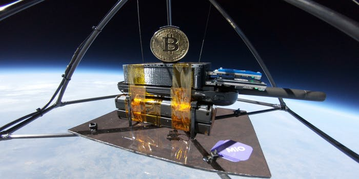 Space Miner One Bitcoin rig