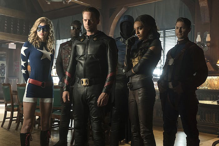 Legends of Tomorrow Justice Society of America Season 2