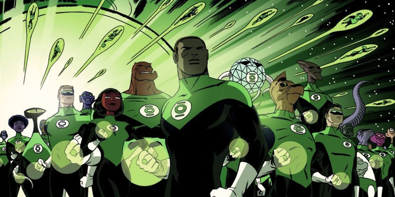 Green Lantern Corps from DC Comics