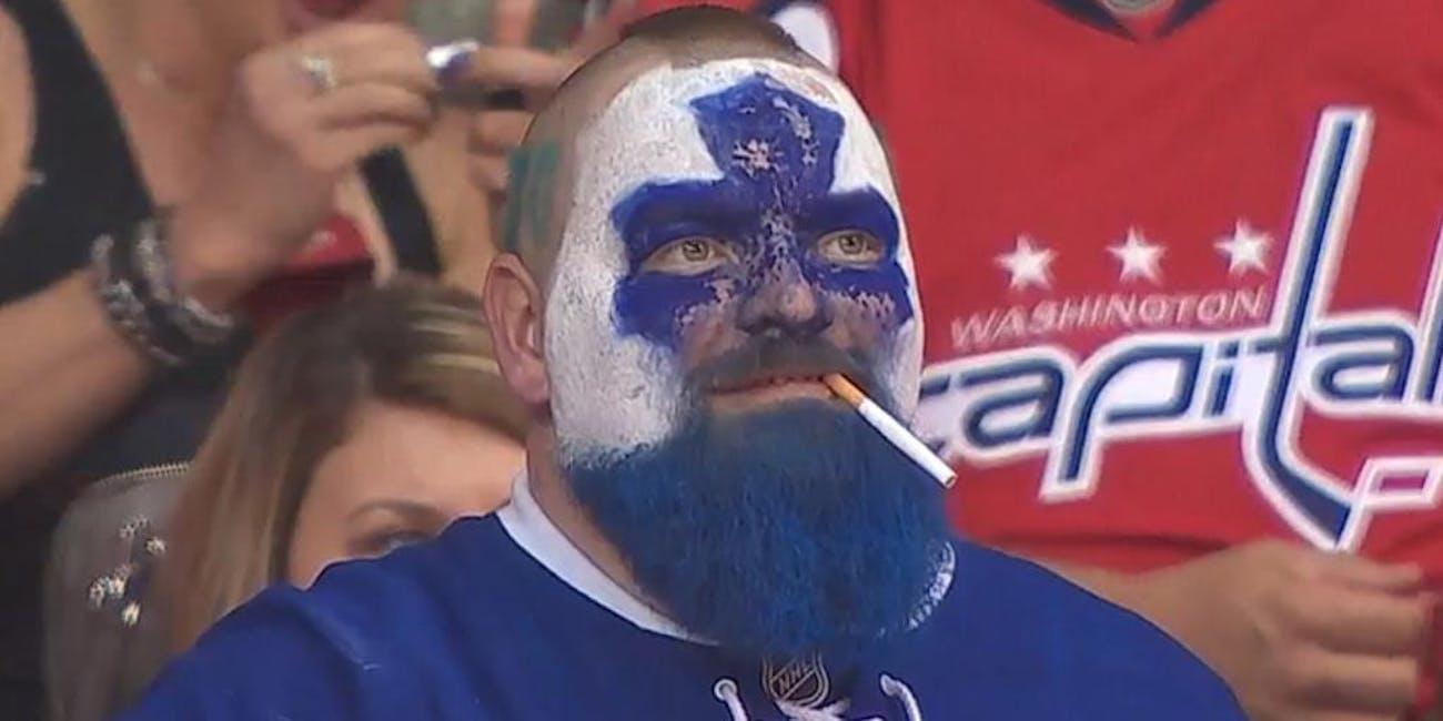 hockey NHL dart guy