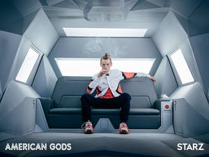 Bruce Langley as Technical Boy in 'American Gods'
