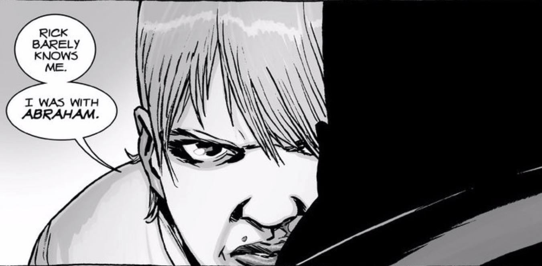 Holly addresses Negan in 'The Walking Dead'