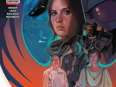 Marvel's 'Rogue One' Comic Shows Saw Gerrera Ditch Jyn Erso