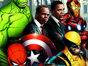 Obama Commissioned Slick Avengers Art Directly From Marvel