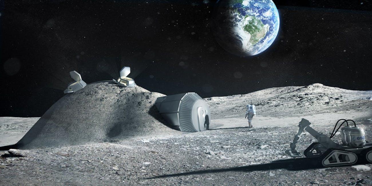 esa moon base
