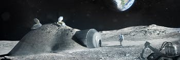 esa moon base