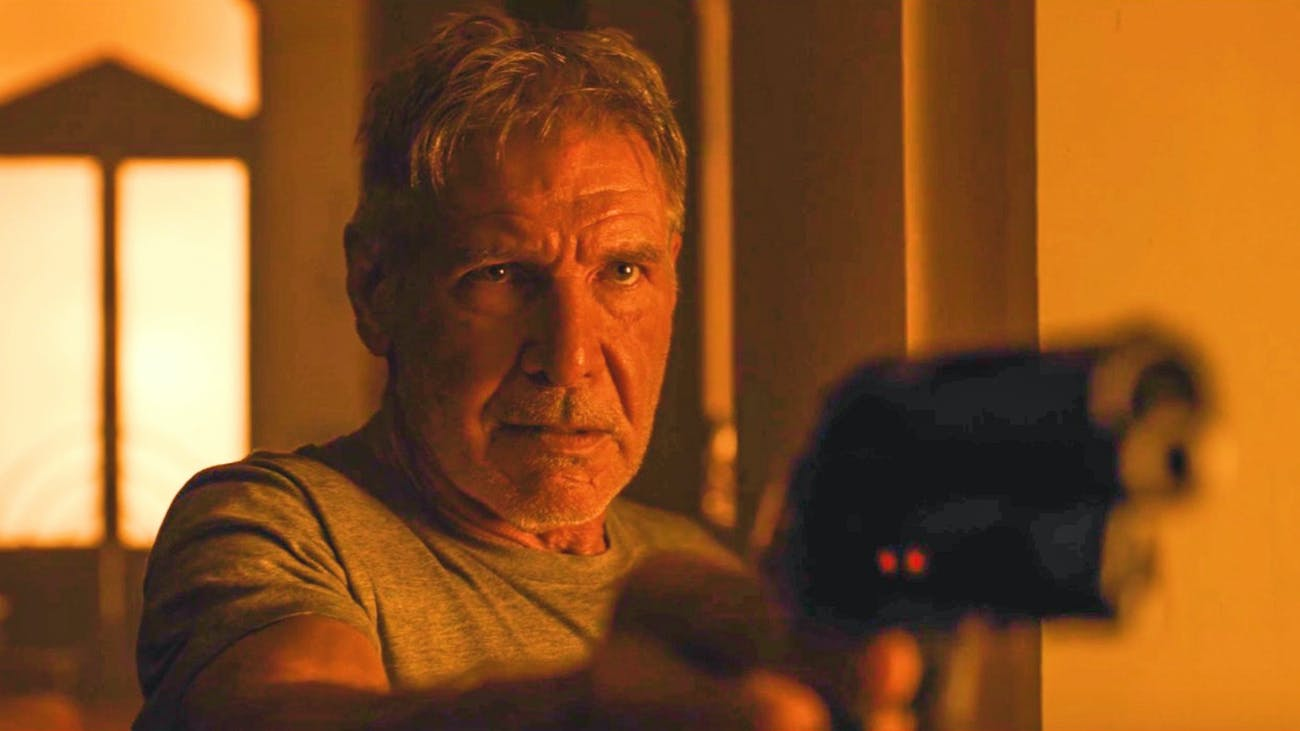 Harrison Ford as Rick Deckard -- 'Blade Runner 2049'