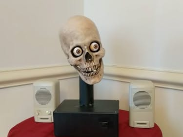 A Creepy Skull is Given the Gift of Speech With Amazon Alexa