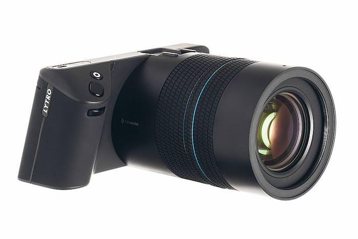 The Lytro Illum camera, released in 2014.