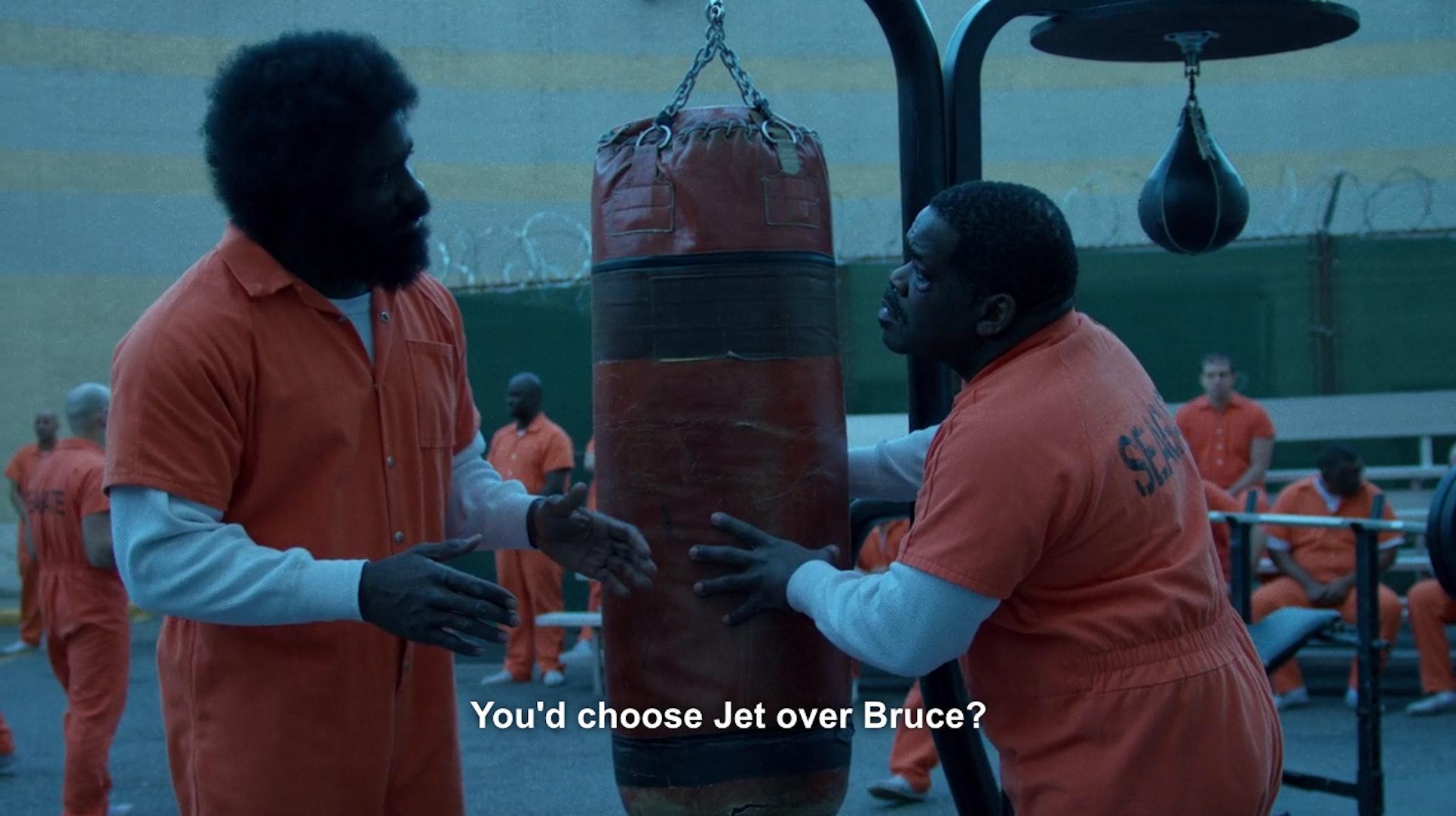Luke Cage Bruce Lee Jet Li Squabbles Netflix