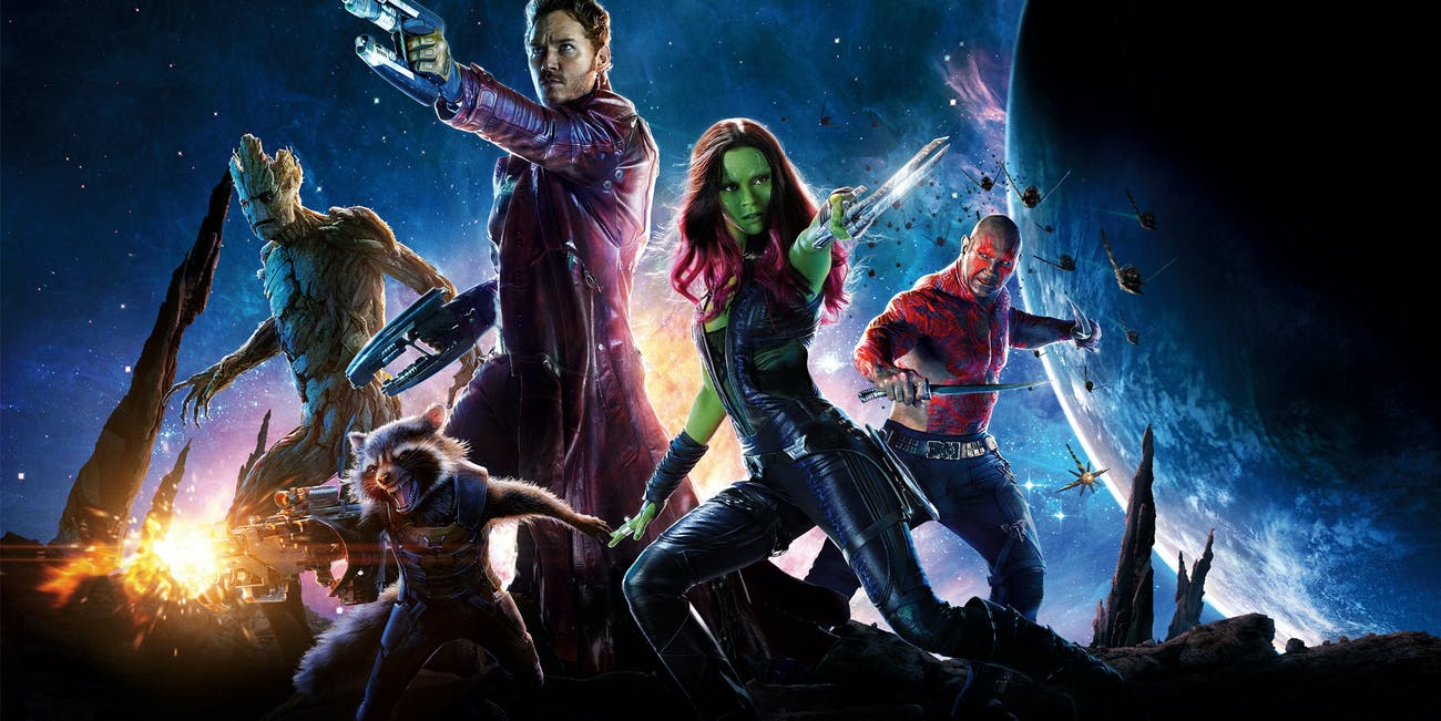Guardians of the Galaxy poster for Marvel Studios