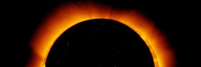 An annular solar eclipse.