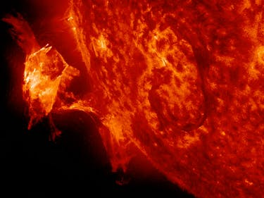 New Image Shows the Sun Spitting Out a Planet-Sized Fireball