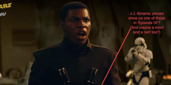 'Last Jedi' deleted scene.