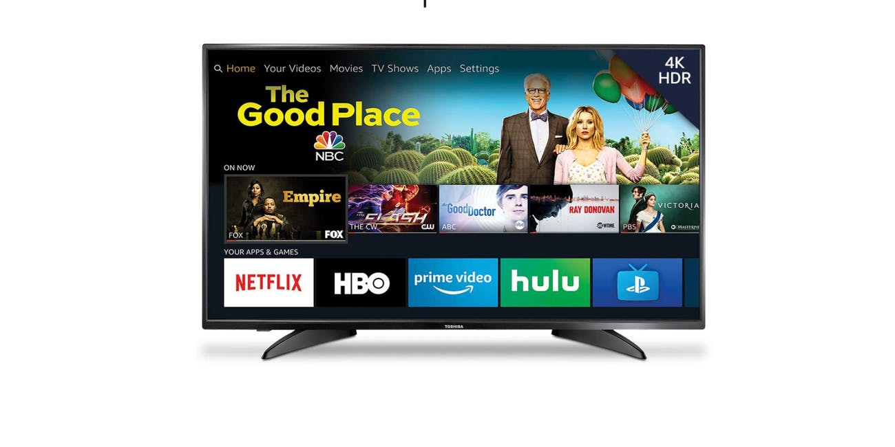 Toshiba 50-inch 4K Ultra HD Smart LED TV