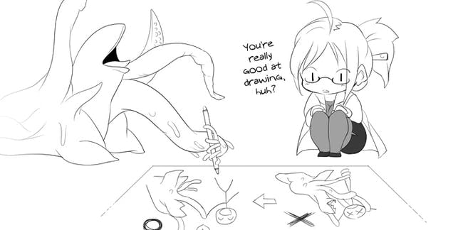 tentacle porn comic