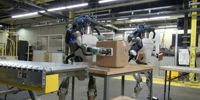 automation robotics wages