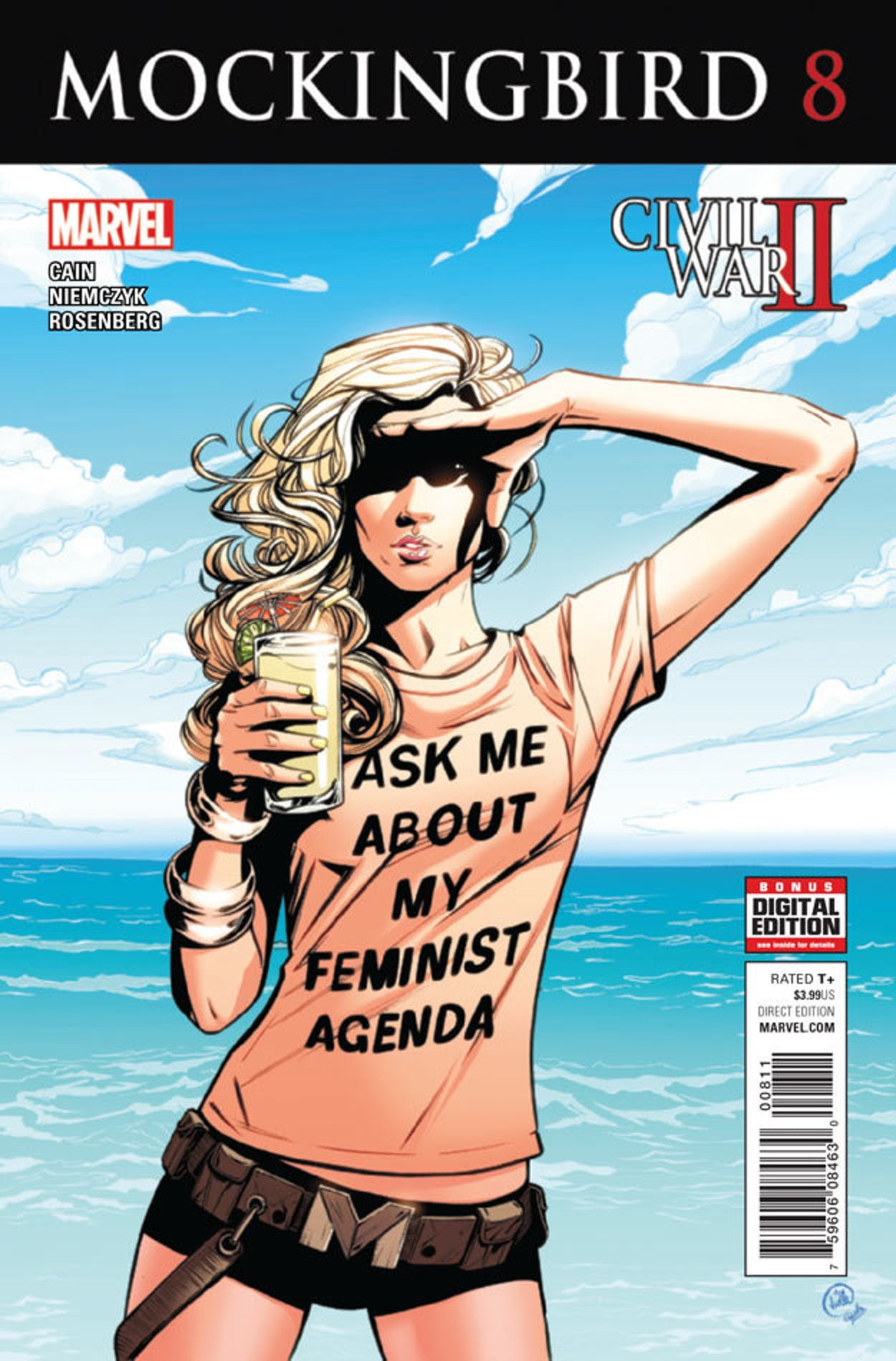 Cover for Marvel's Mockingbird #8