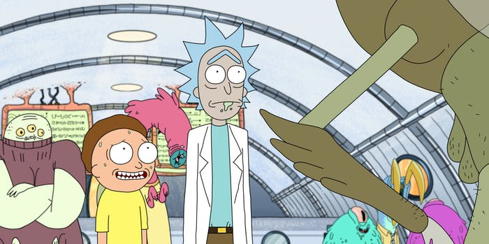"'Rick and Morty' did a bit too much in its ""Pilot."""