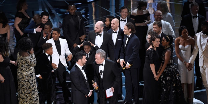 """Chaos struck the end of this year's Oscars when """"La La Land"""" was mistakenly announced as the Best Picture winner."""