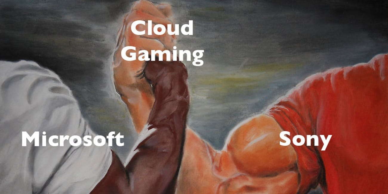 cloud gaming microsoft sony