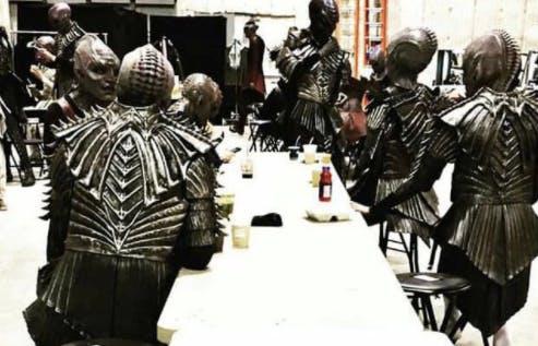 "The ""new"" Klingons."