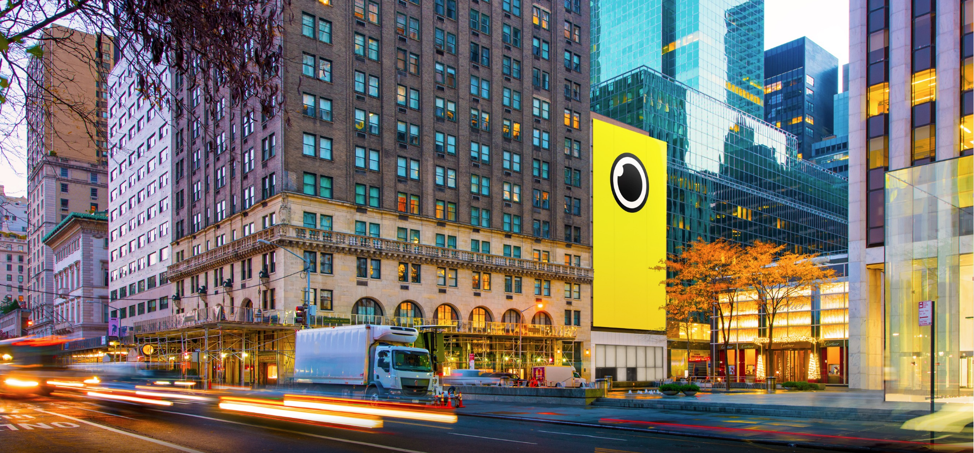 The Snap Spectacles pop-up store in Midtown Manhattan.