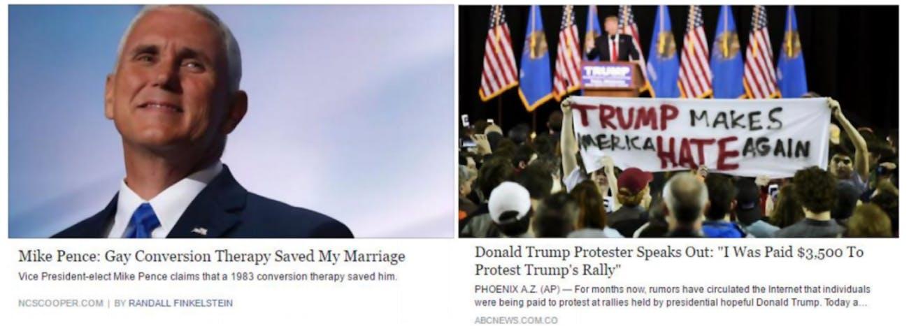 fake news headlines