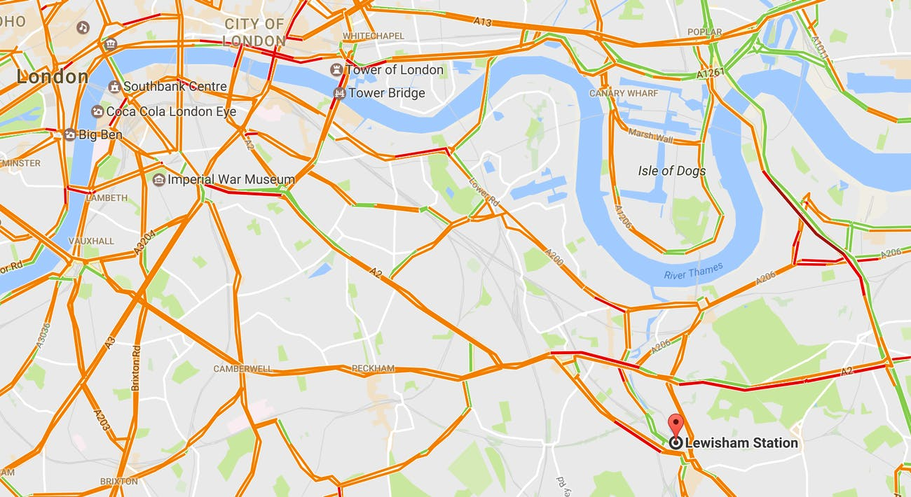 Map Around London.A Side Effect Of London S Bakerloo Tube Extension Easier Breathing