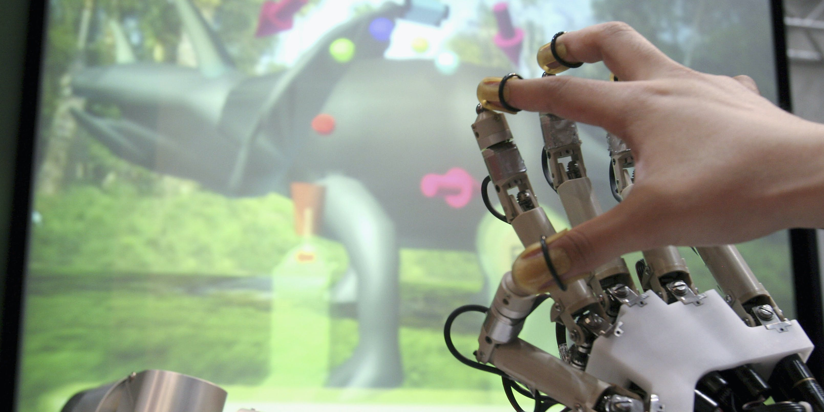 The future of virtual reality depends on advancements in haptic touch.