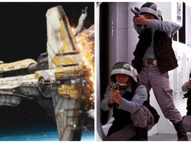 Hammerhead Corvette Crew in 'Rogue One' Got to the Escape Pods