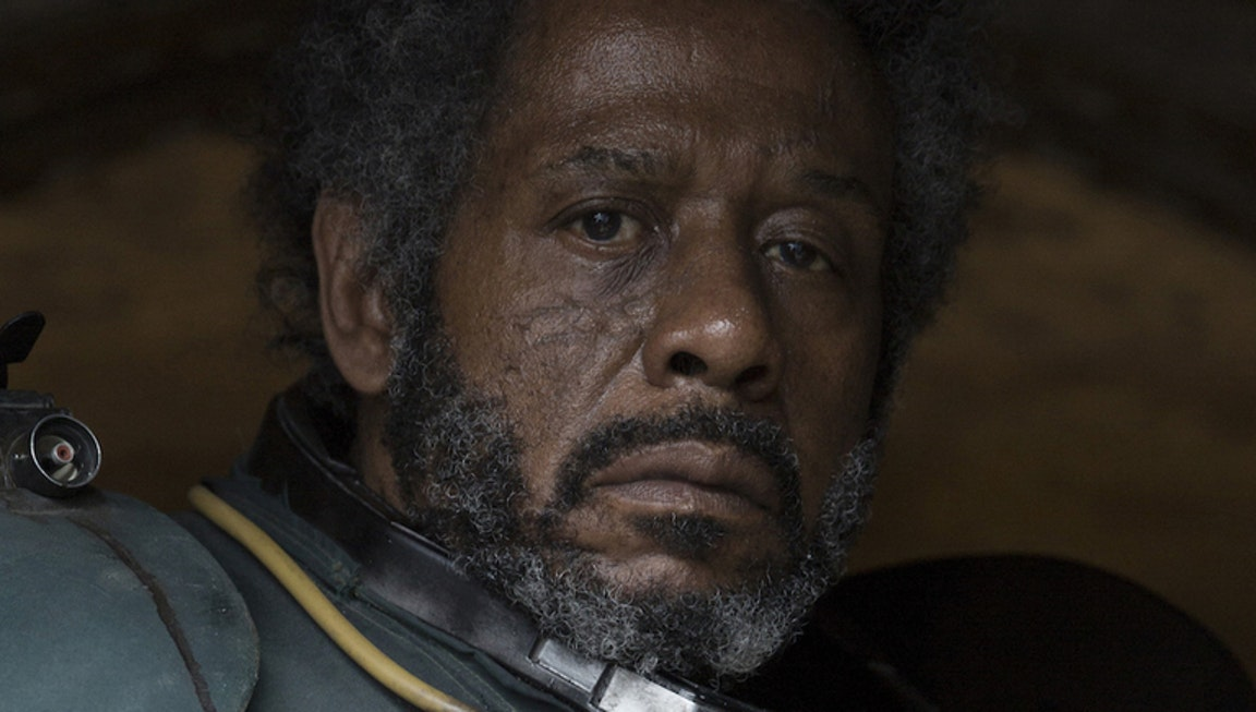 Rebel insurgent, Saw Gerrera.