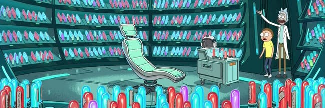 Morty's Mind Blowers looks like a darker version of 'Inside Out', right?
